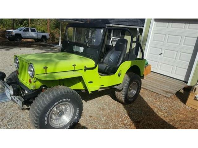 1949 Willys Jeep (CC-1118004) for sale in Cadillac, Michigan