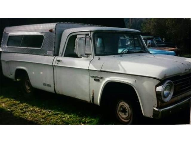 1965 Dodge D100 (CC-1118076) for sale in Cadillac, Michigan