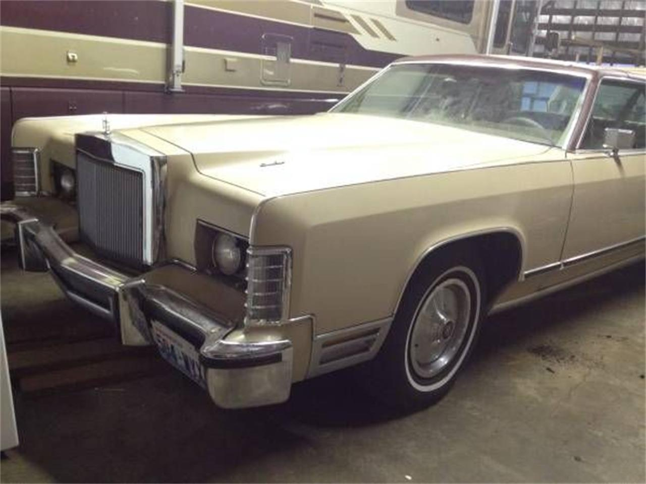 1978 Lincoln Town Car (CC-1118150) for sale in Cadillac, Michigan