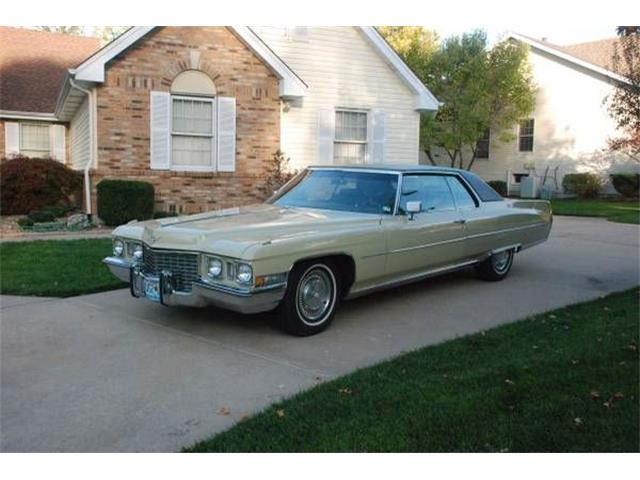 1972 Cadillac Coupe DeVille (CC-1118223) for sale in Cadillac, Michigan