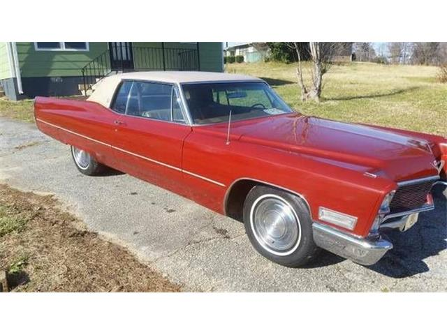1968 Cadillac DeVille (CC-1118251) for sale in Cadillac, Michigan