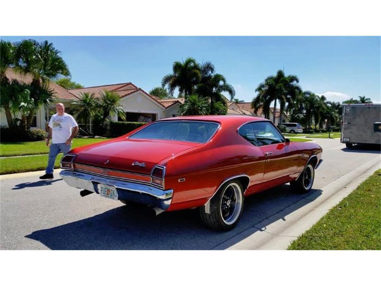 1969 Chevrolet Chevelle (CC-1118387) for sale in Cadillac, Michigan
