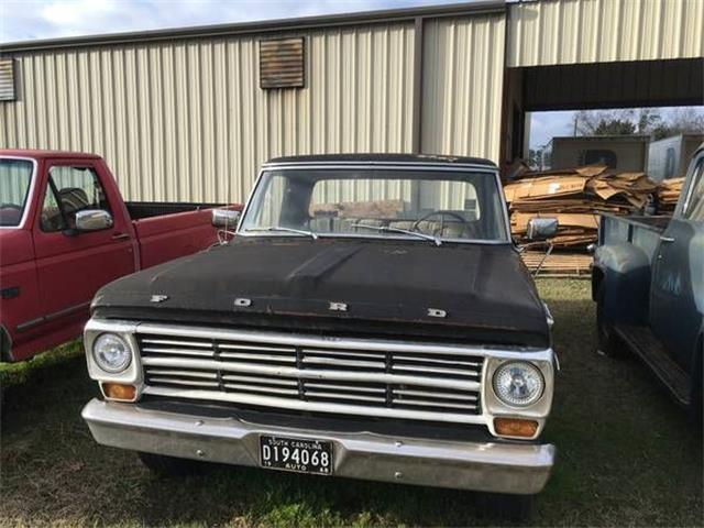 1968 Ford F100 (CC-1118401) for sale in Cadillac, Michigan
