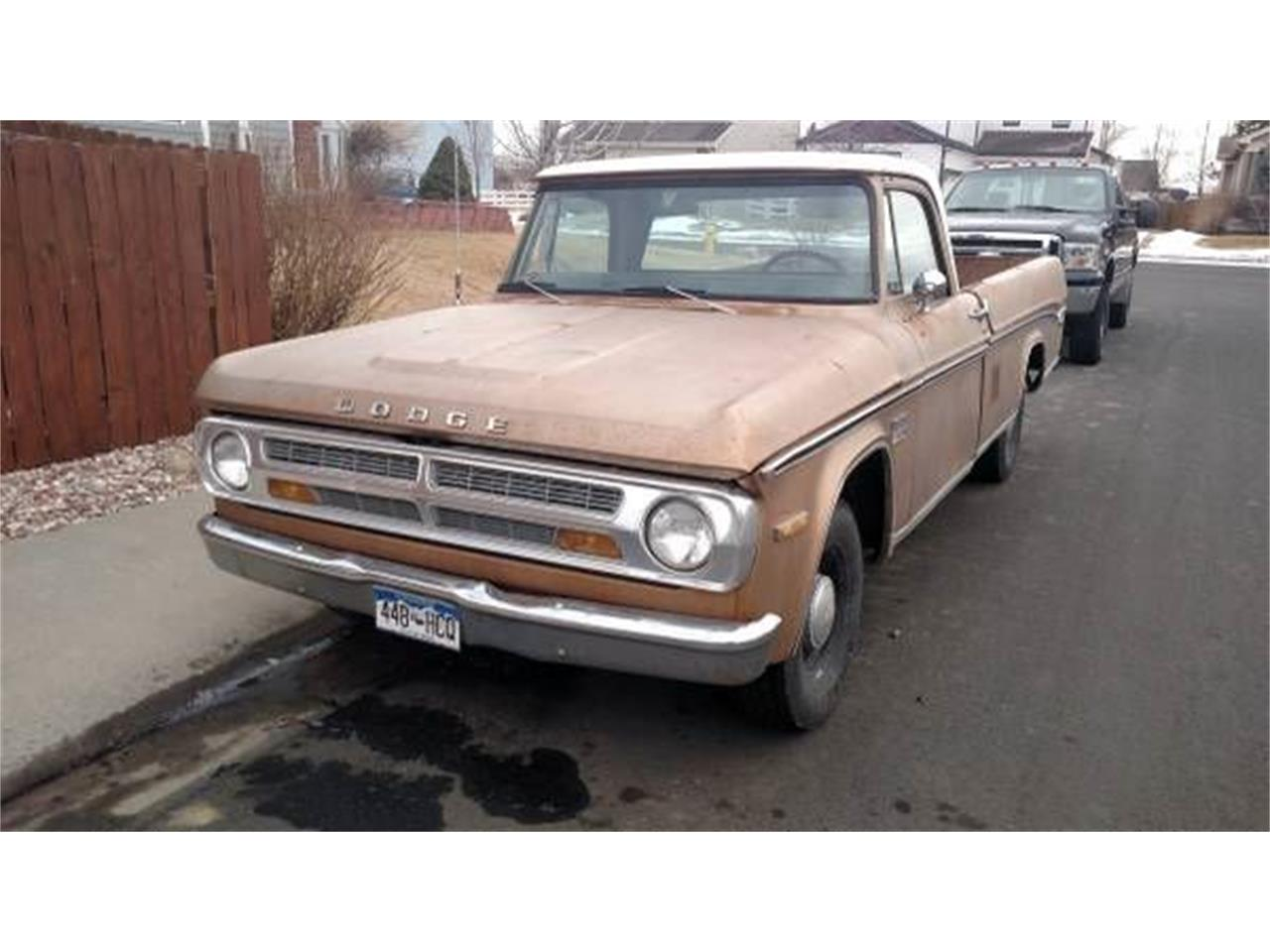 1971 Dodge D100 (CC-1118595) for sale in Cadillac, Michigan