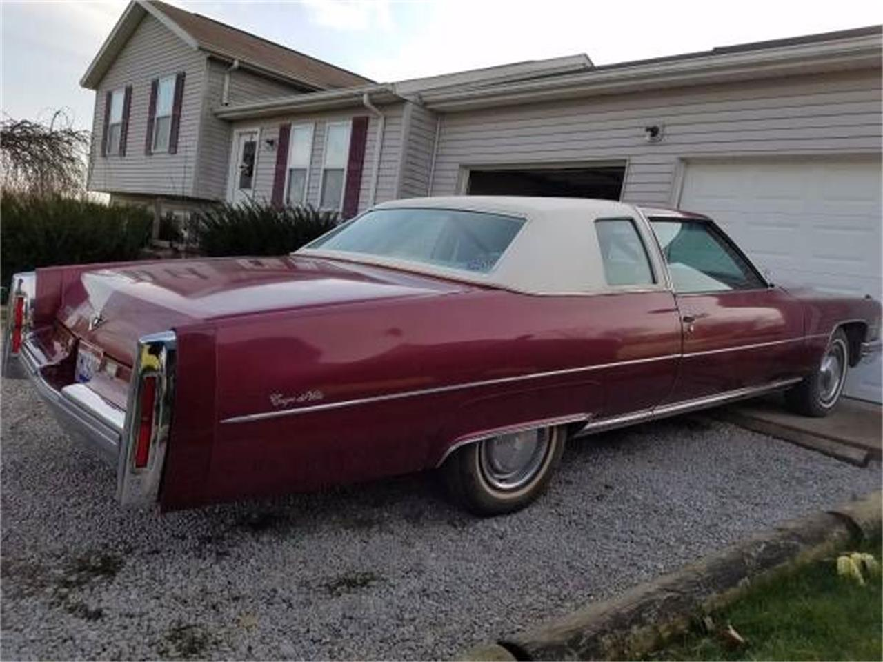 1974 Cadillac Coupe DeVille (CC-1118959) for sale in Cadillac, Michigan