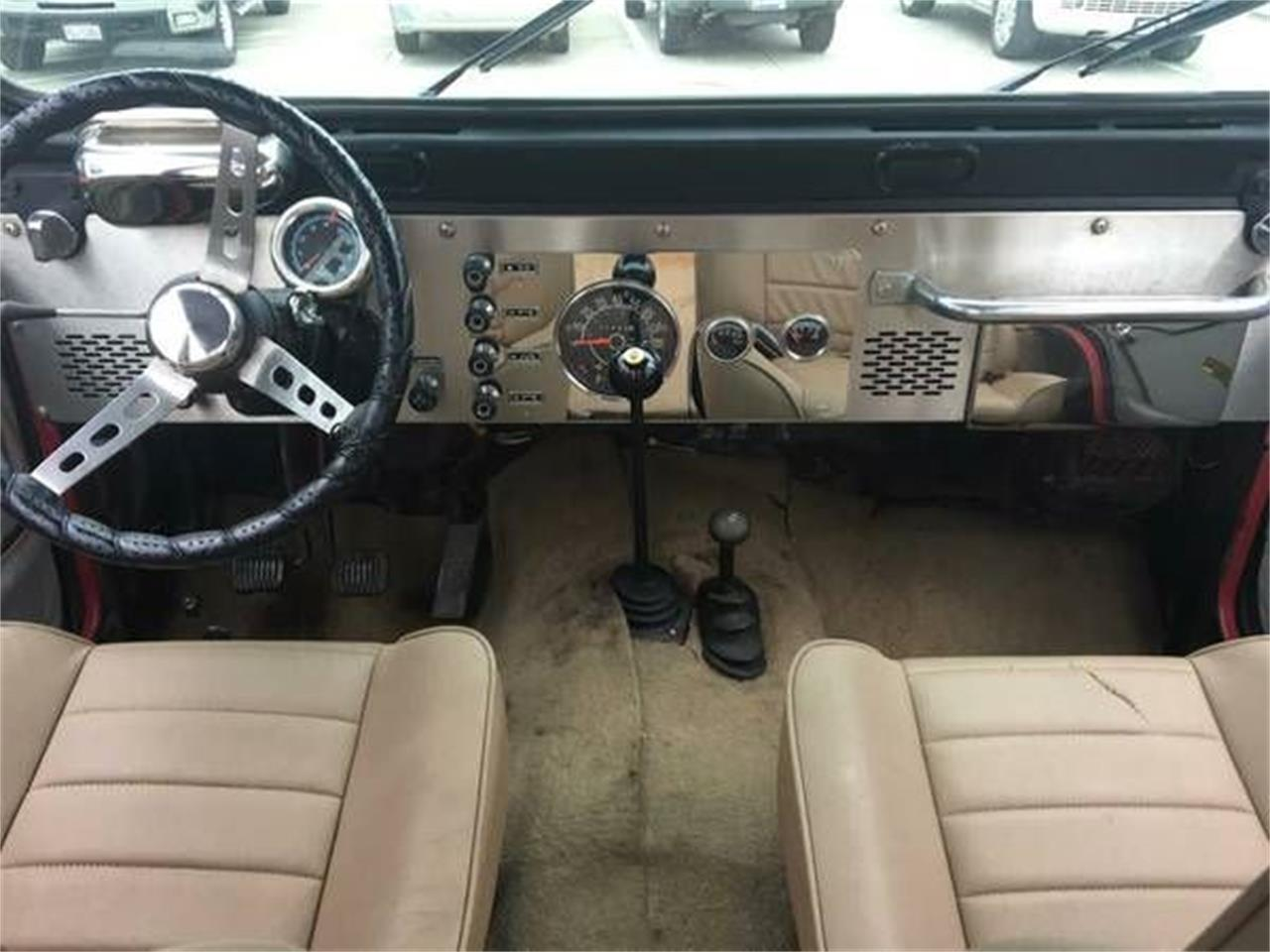 1977 Jeep CJ5 (CC-1119003) for sale in Cadillac, Michigan
