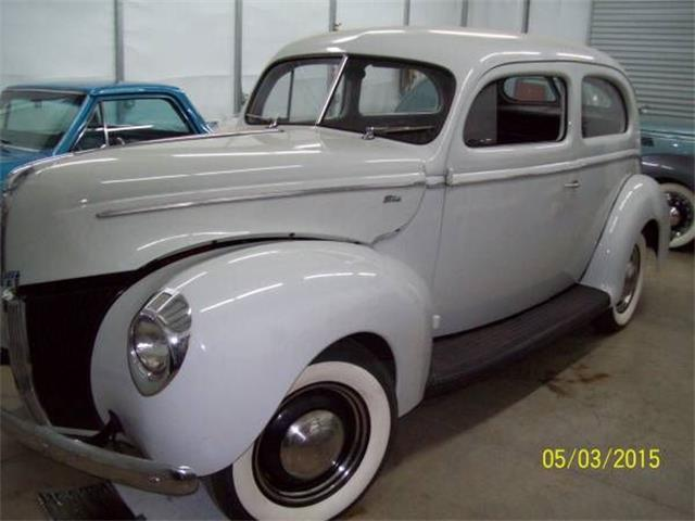 1940 Ford Sedan (CC-1119051) for sale in Cadillac, Michigan