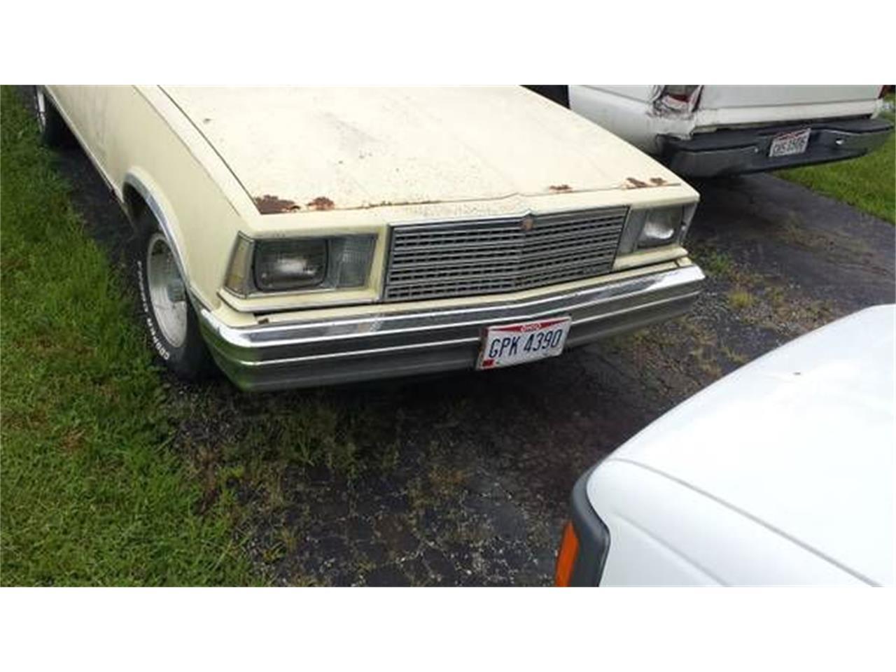 1979 Chevrolet El Camino (CC-1119097) for sale in Cadillac, Michigan