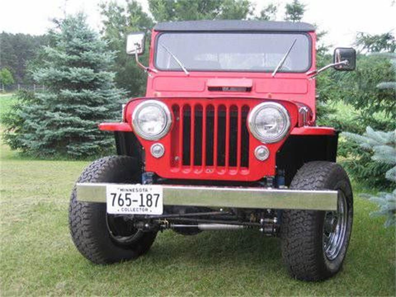 1952 Willys Jeep (CC-1119516) for sale in Cadillac, Michigan