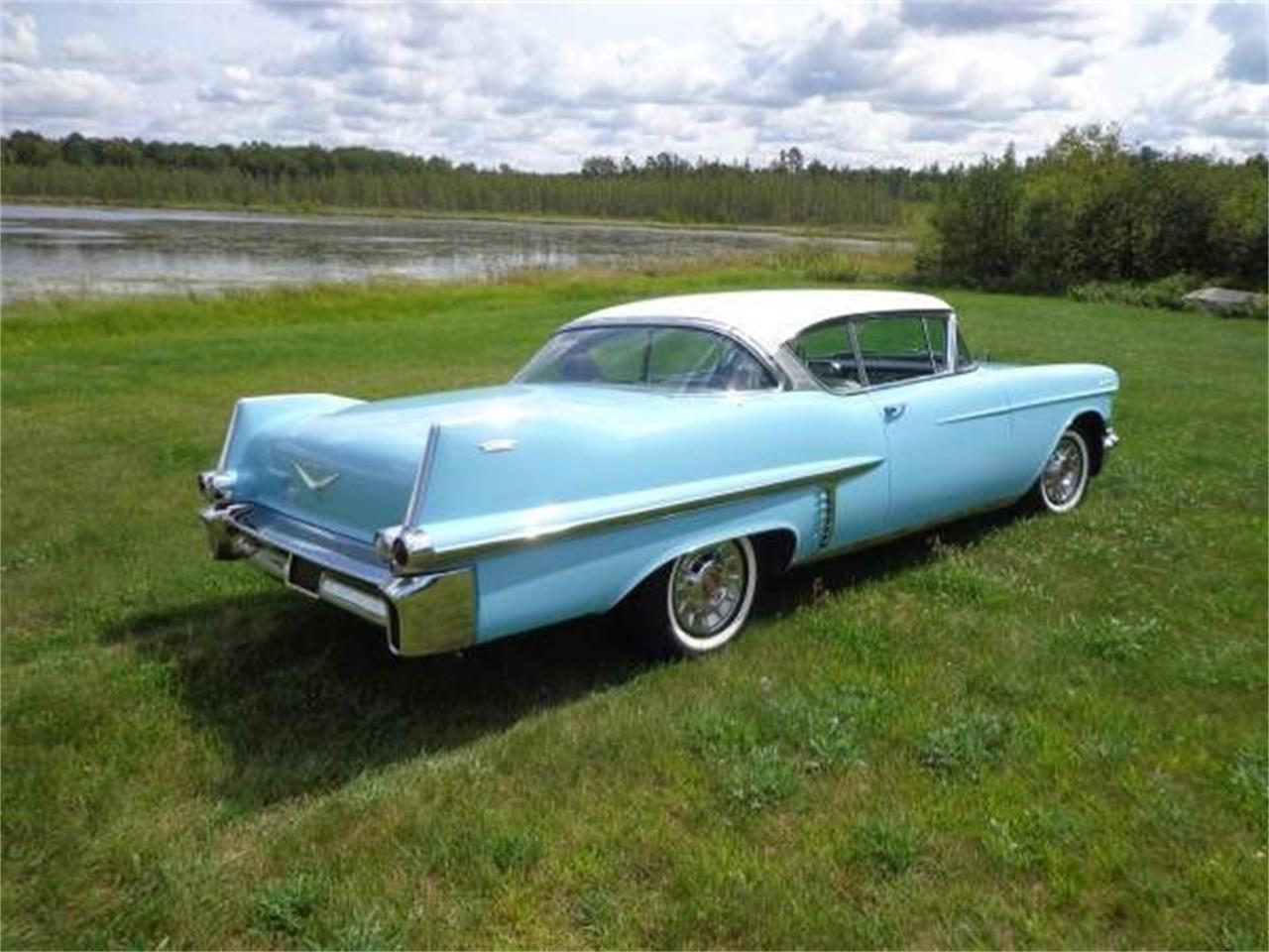 1957 Cadillac Coupe DeVille (CC-1119533) for sale in Cadillac, Michigan