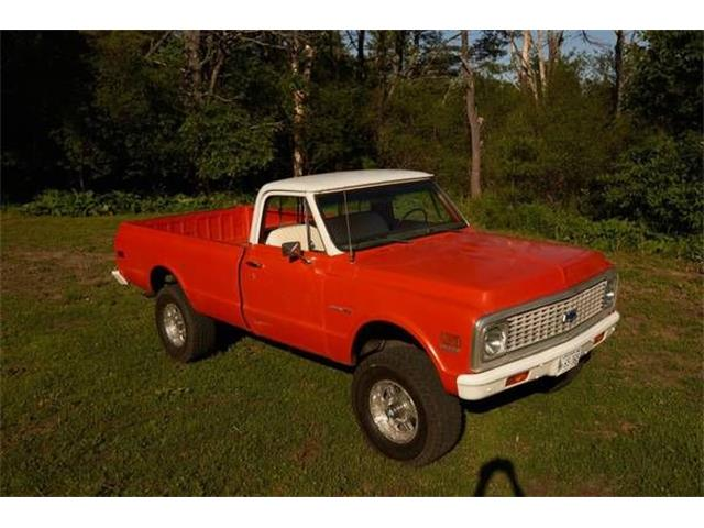 1971 Chevrolet K-10 (CC-1119559) for sale in Cadillac, Michigan