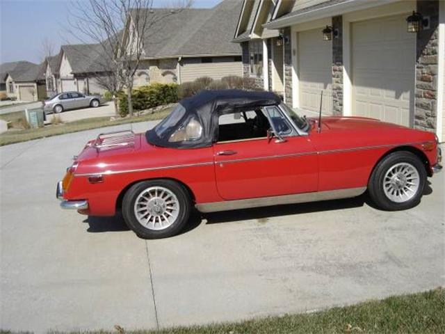 1972 MG MGB (CC-1119697) for sale in Cadillac, Michigan
