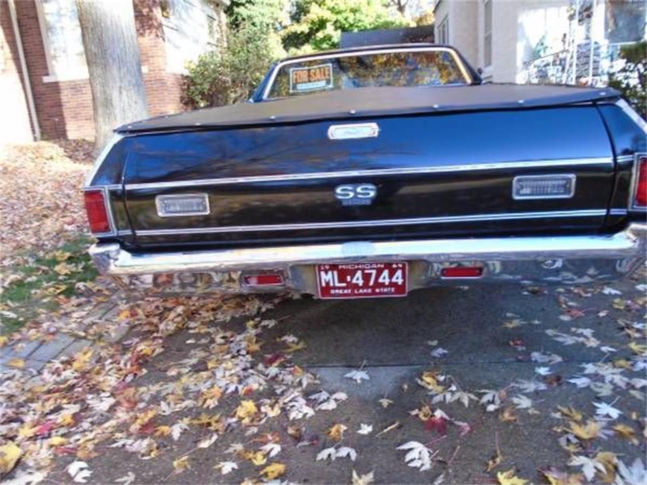 1969 Chevrolet El Camino (CC-1119757) for sale in Cadillac, Michigan