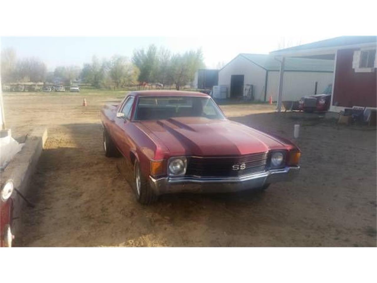 1972 Chevrolet El Camino (CC-1119777) for sale in Cadillac, Michigan