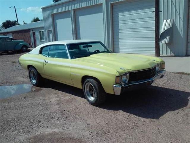 1972 Chevrolet Chevelle (CC-1119782) for sale in Cadillac, Michigan