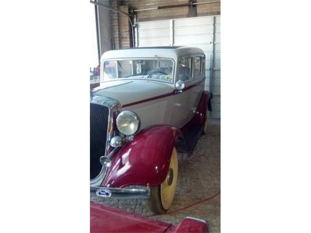1933 Plymouth Sedan (CC-1119828) for sale in Cadillac, Michigan