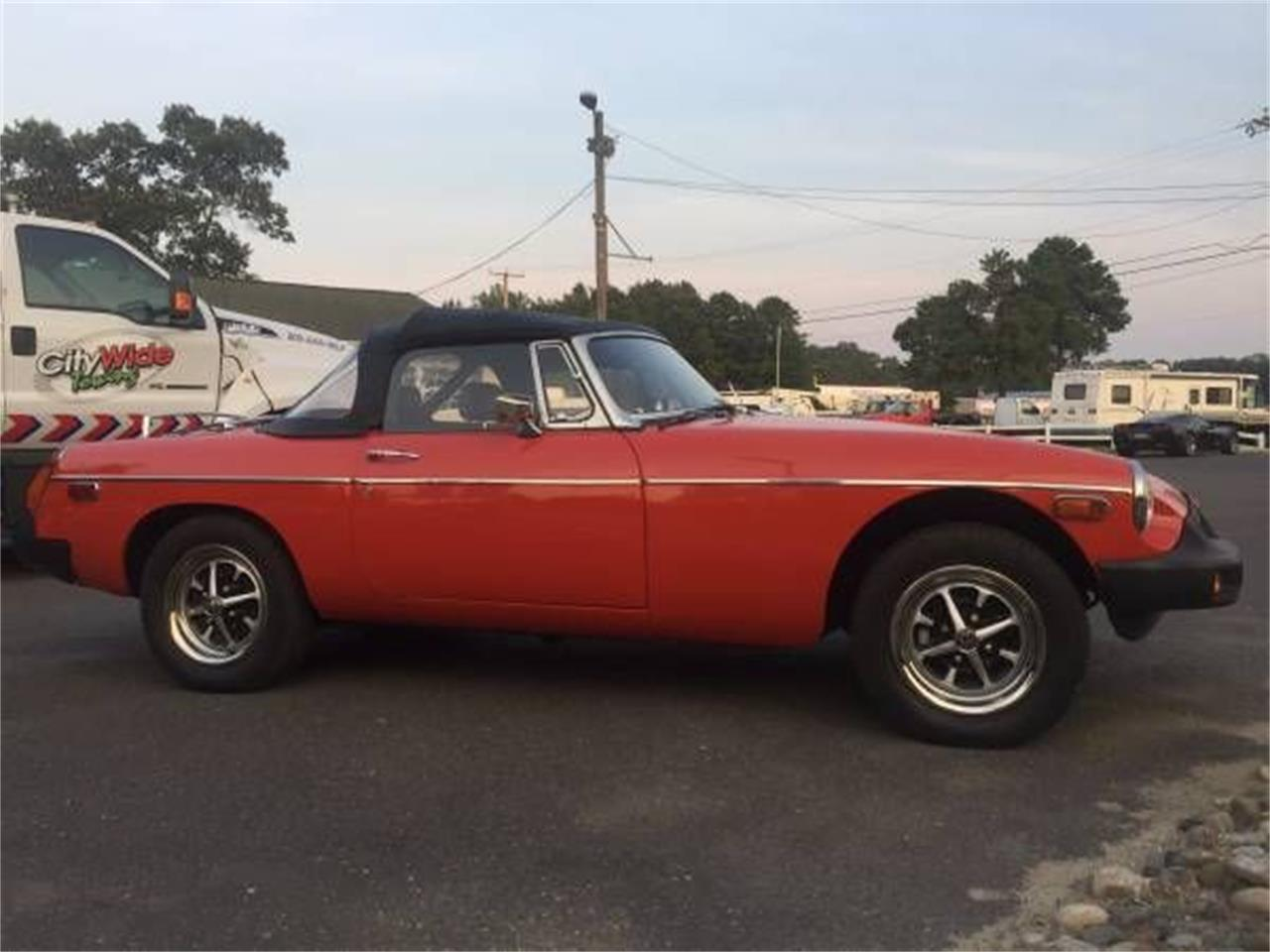1977 MG MGB (CC-1121017) for sale in Cadillac, Michigan