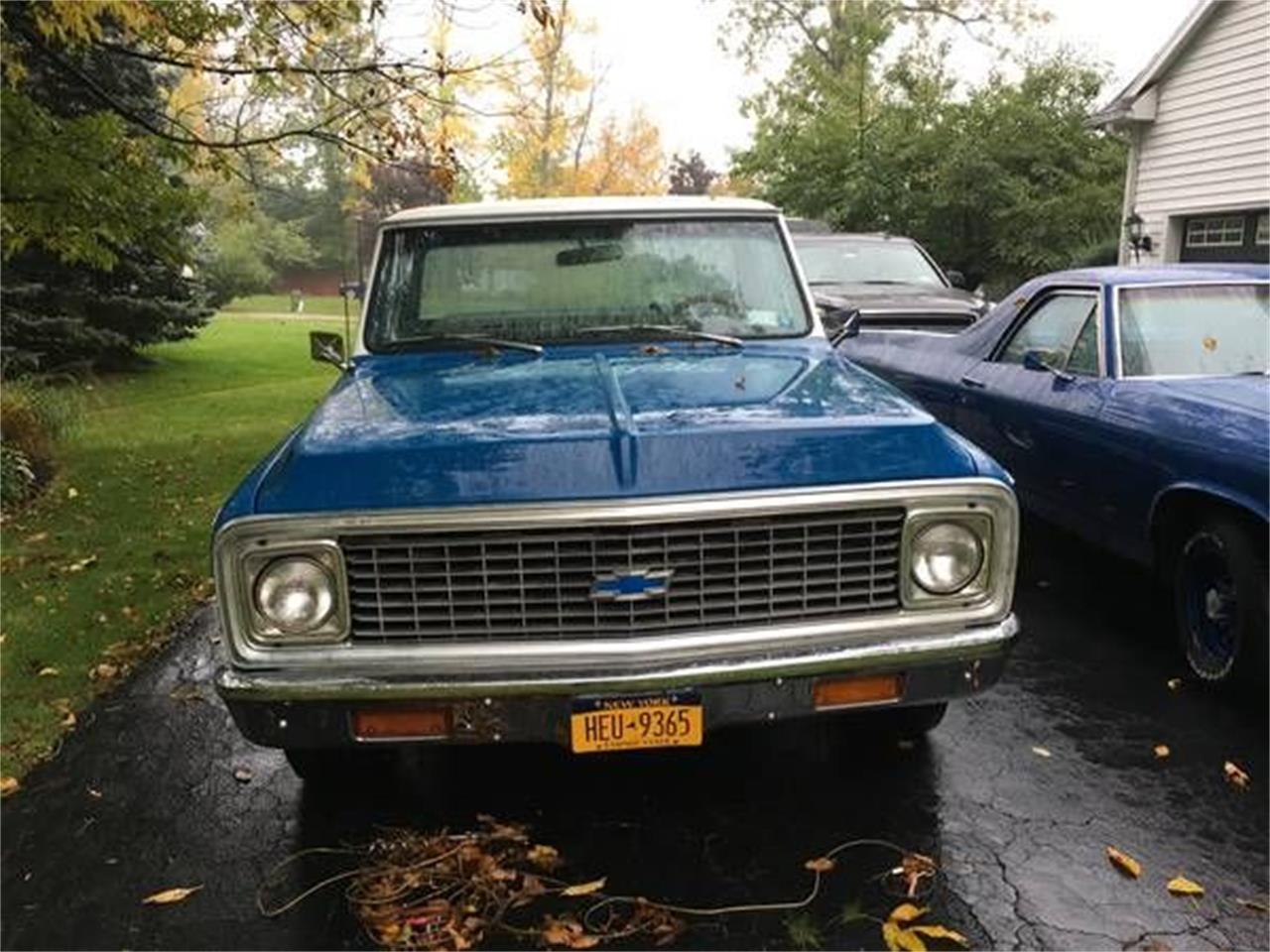 1972 Chevrolet C10 (CC-1121187) for sale in Cadillac, Michigan