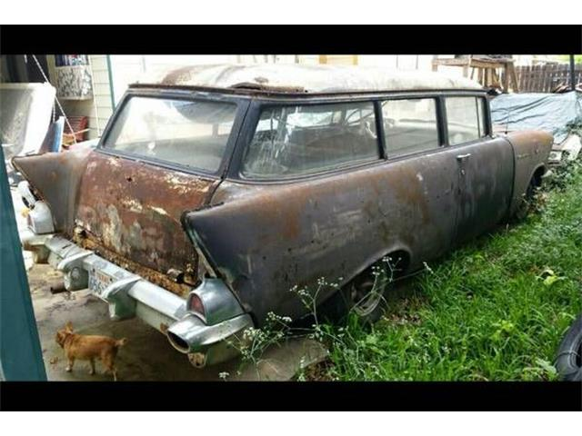 1957 Chevrolet Station Wagon (CC-1120125) for sale in Cadillac, Michigan