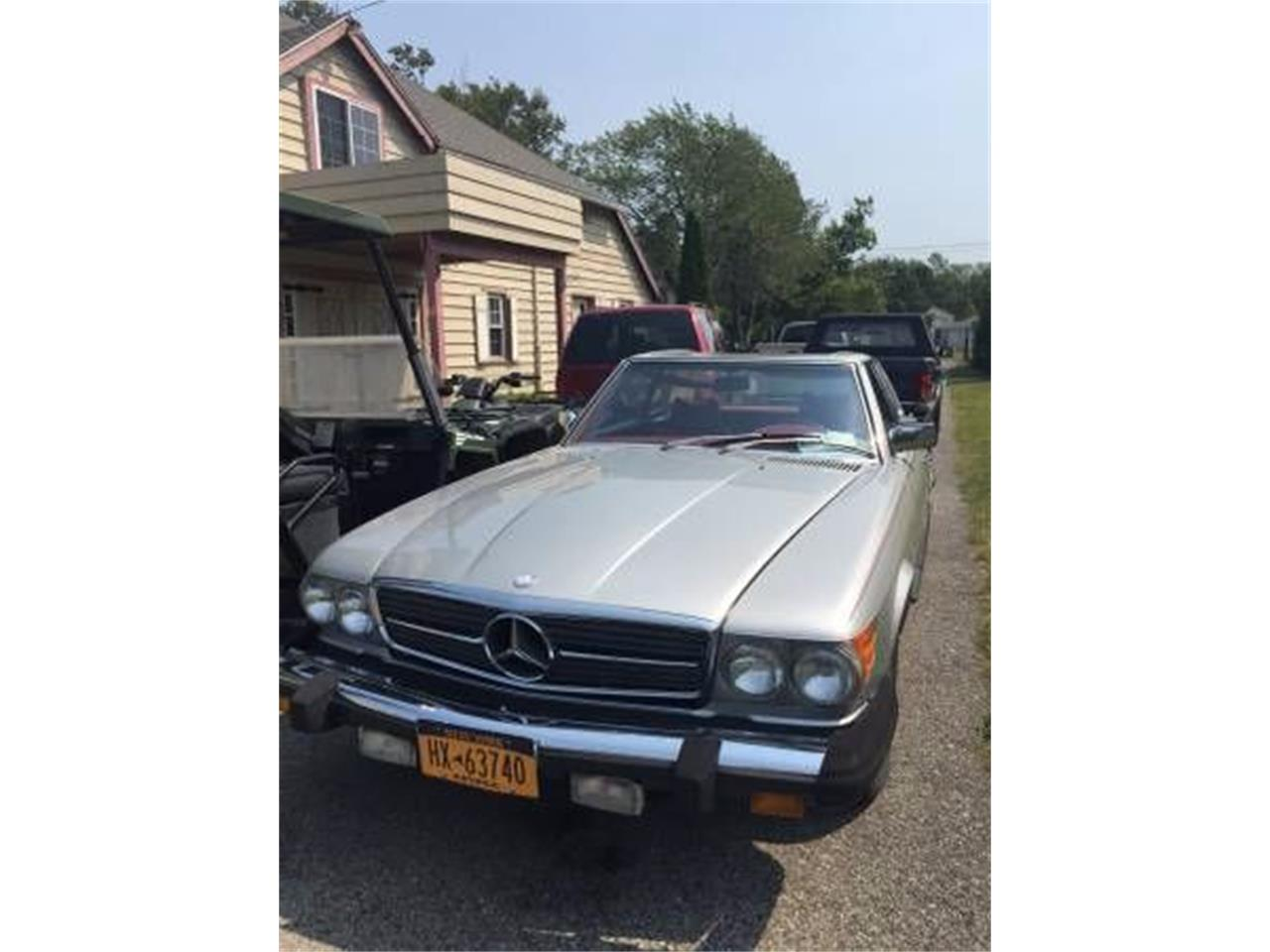 1977 Mercedes-Benz 450SL (CC-1121270) for sale in Cadillac, Michigan
