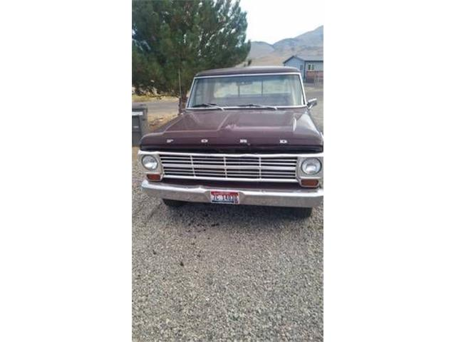 1969 Ford F100 (CC-1121371) for sale in Cadillac, Michigan