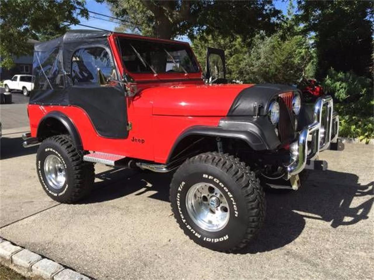 1977 Jeep CJ5 (CC-1121452) for sale in Cadillac, Michigan