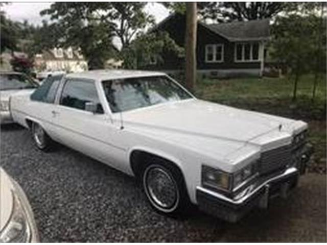 1979 Cadillac Coupe DeVille (CC-1121525) for sale in Cadillac, Michigan