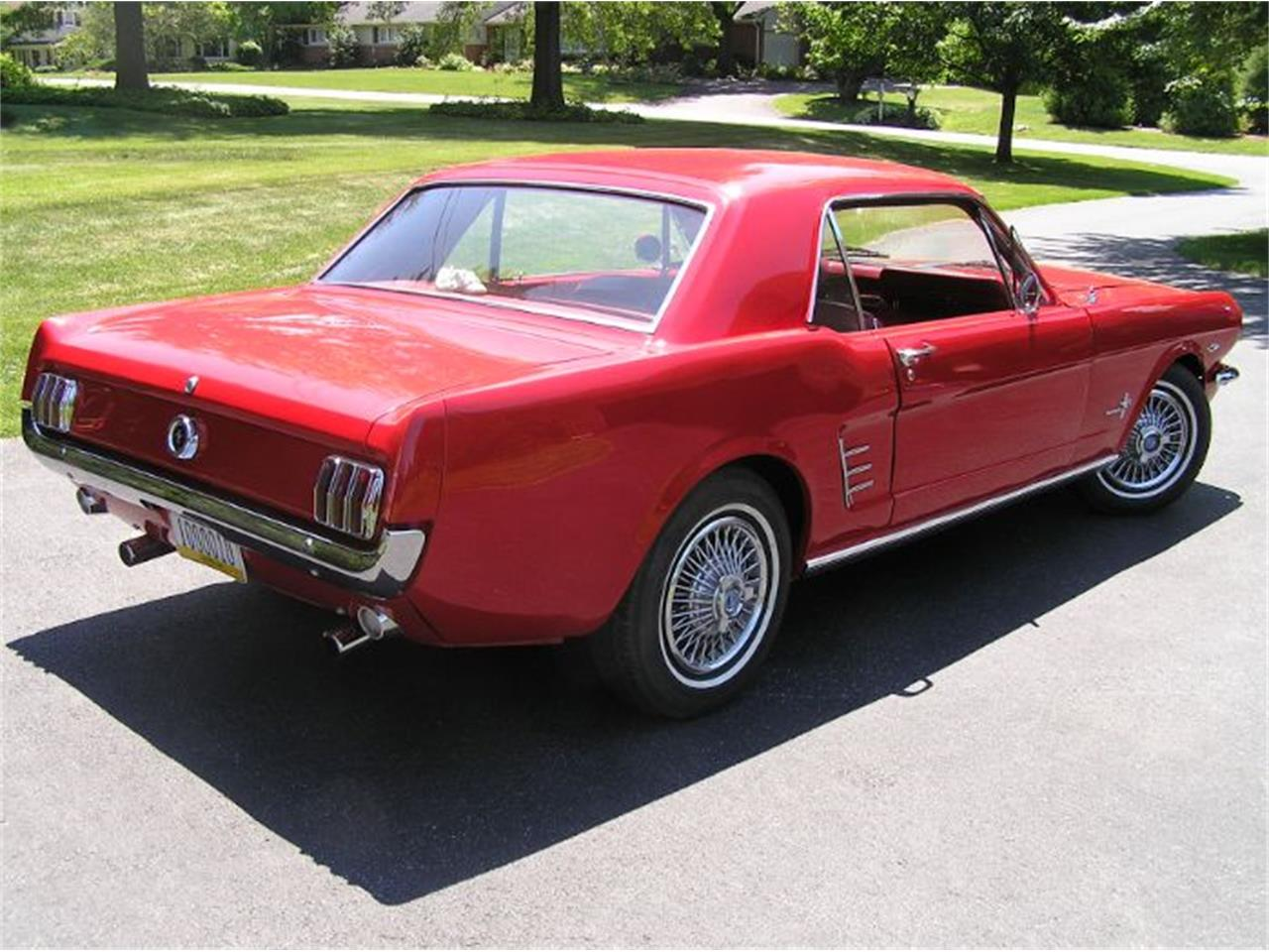 1966 Ford Mustang (CC-1121611) for sale in Cadillac, Michigan