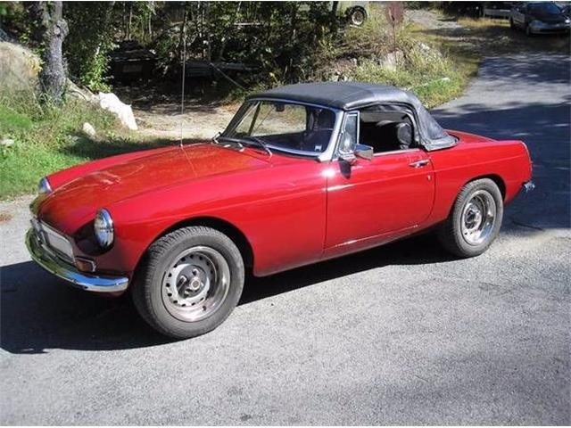 1970 MG MGB (CC-1121743) for sale in Cadillac, Michigan