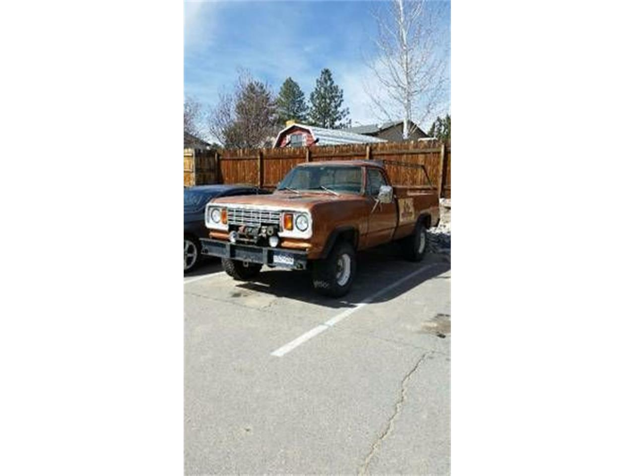 1978 Dodge Power Wagon (CC-1121929) for sale in Cadillac, Michigan
