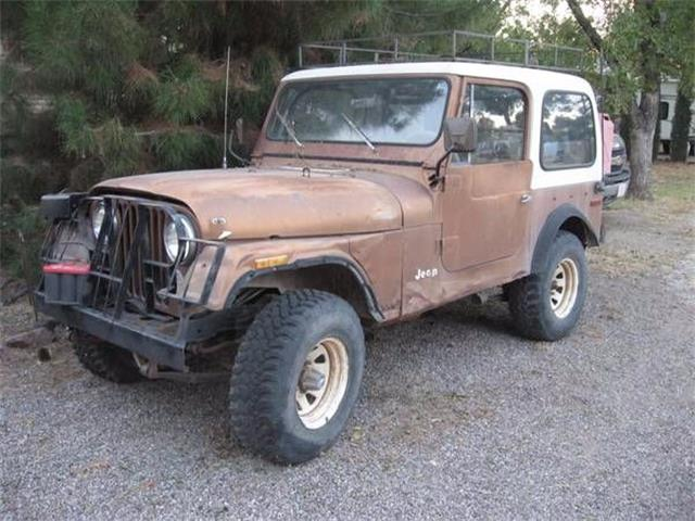 1979 Jeep CJ7 (CC-1121984) for sale in Cadillac, Michigan