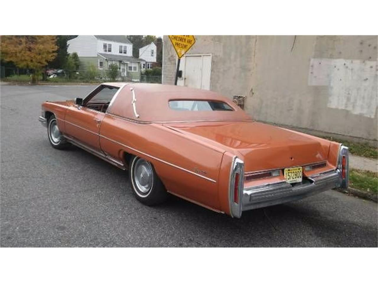 1974 Cadillac Coupe DeVille (CC-1122086) for sale in Cadillac, Michigan