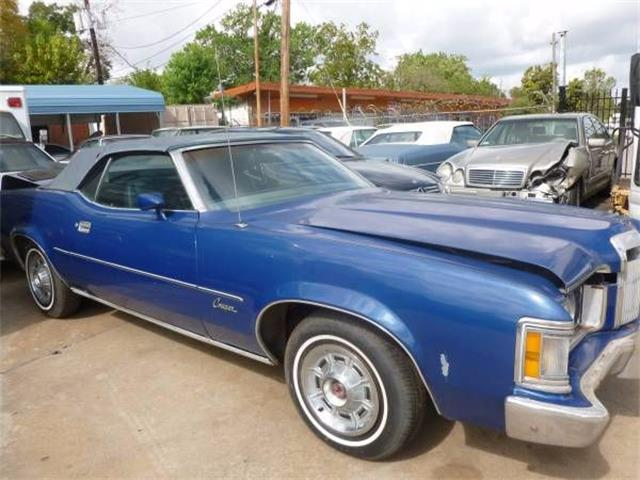 1973 Mercury Cougar (CC-1122495) for sale in Cadillac, Michigan