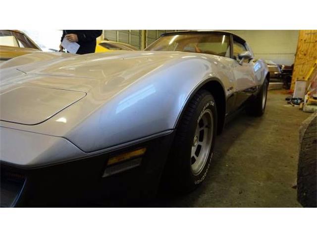 1982 Chevrolet Corvette (CC-1122625) for sale in Cadillac, Michigan