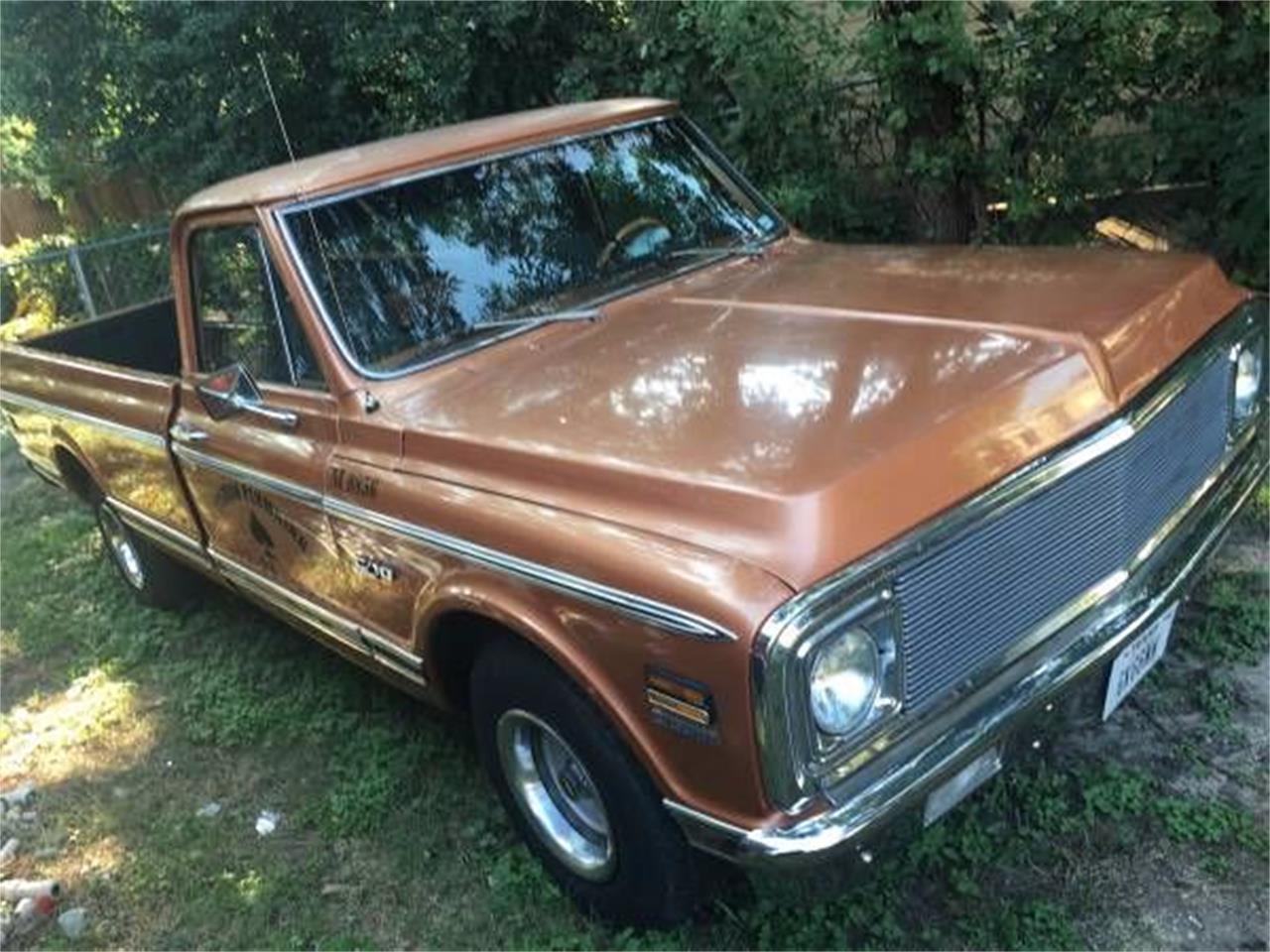 1972 Chevrolet C10 (CC-1122683) for sale in Cadillac, Michigan