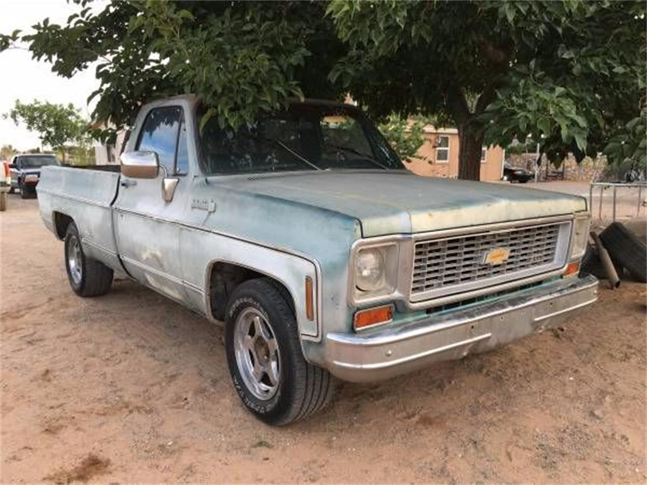 1973 Chevy Truck >> 1973 Chevrolet C10 For Sale Classiccars Com Cc 1122760
