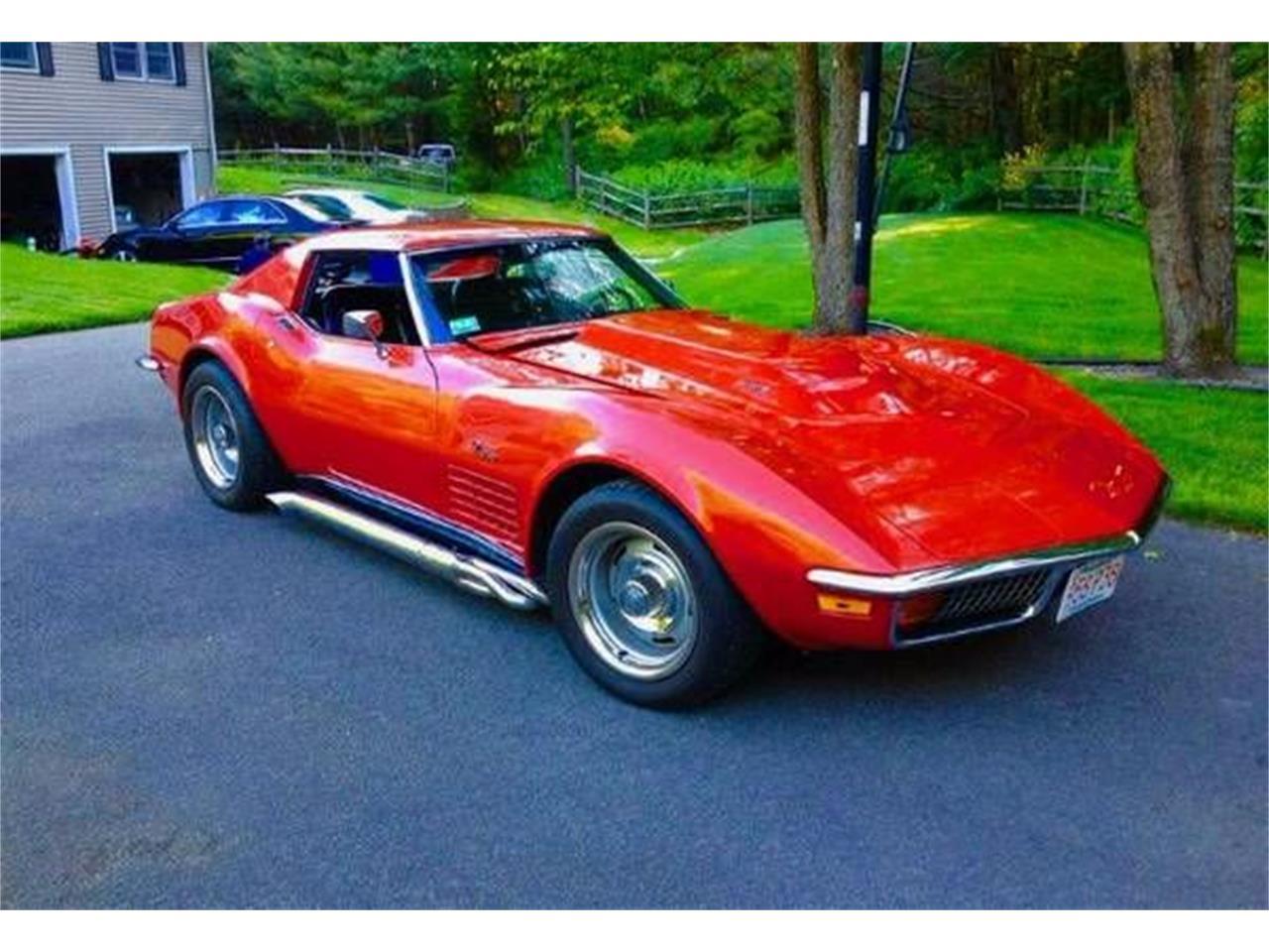 1972 Chevrolet Corvette (CC-1122765) for sale in Cadillac, Michigan