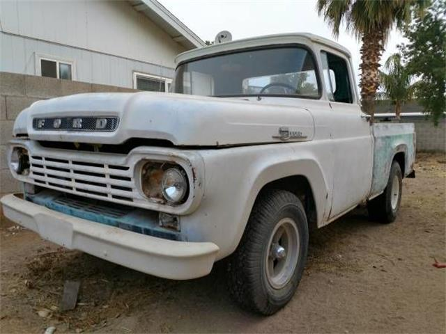 1959 Ford F100 (CC-1122782) for sale in Cadillac, Michigan