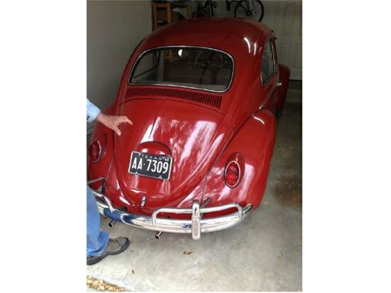 1962 Volkswagen Beetle (CC-1120293) for sale in Cadillac, Michigan