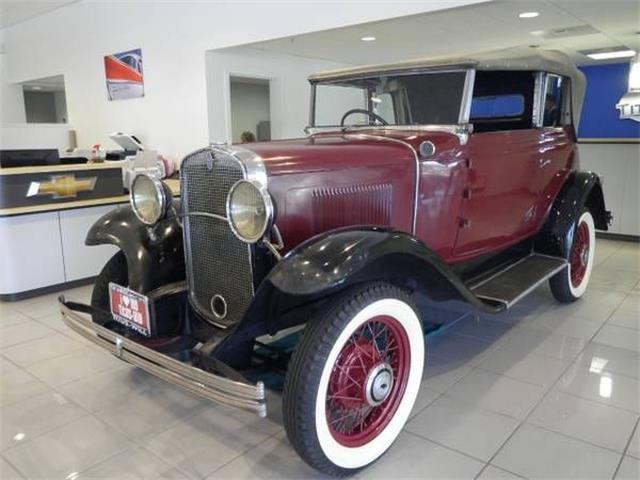 1931 Chevrolet Antique (CC-1123062) for sale in Cadillac, Michigan