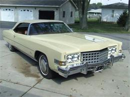 1973 Cadillac Eldorado (CC-1123082) for sale in Cadillac, Michigan
