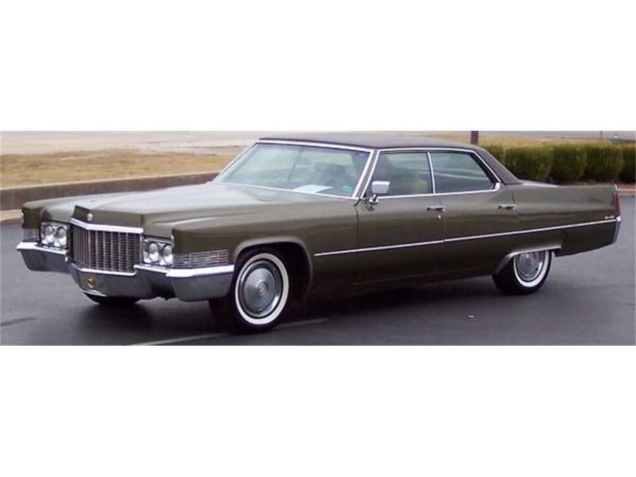 1970 Cadillac Sedan DeVille for Sale   ClassicCars.com ...