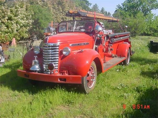 1940 GMC Fire Truck (CC-1120327) for sale in Cadillac, Michigan