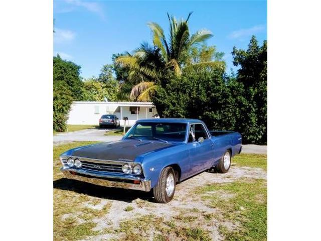 1967 Chevrolet El Camino (CC-1123487) for sale in Cadillac, Michigan