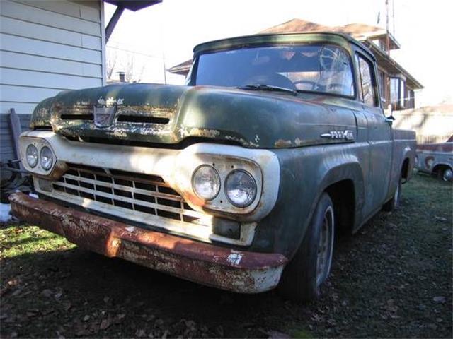 1960 Ford F100 (CC-1120354) for sale in Cadillac, Michigan