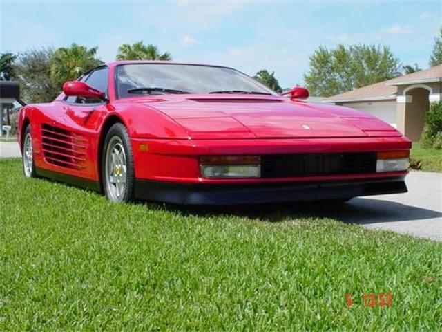 1991 Ferrari Testarossa (CC-1123564) for sale in Cadillac, Michigan