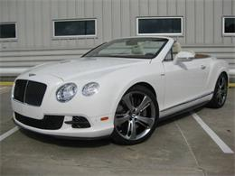 2014 Bentley Continental (CC-1123588) for sale in Cadillac, Michigan