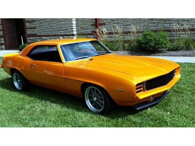 1969 Chevrolet Camaro (CC-1123857) for sale in Cadillac, Michigan