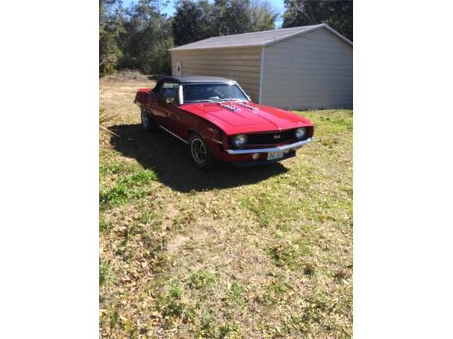 1969 Chevrolet Camaro (CC-1124015) for sale in Cadillac, Michigan