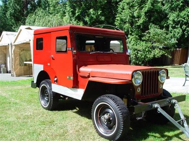1950 Willys Jeep (CC-1124349) for sale in Cadillac, Michigan